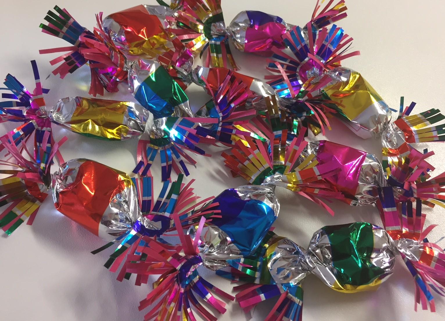 Papillotes chocolats maison