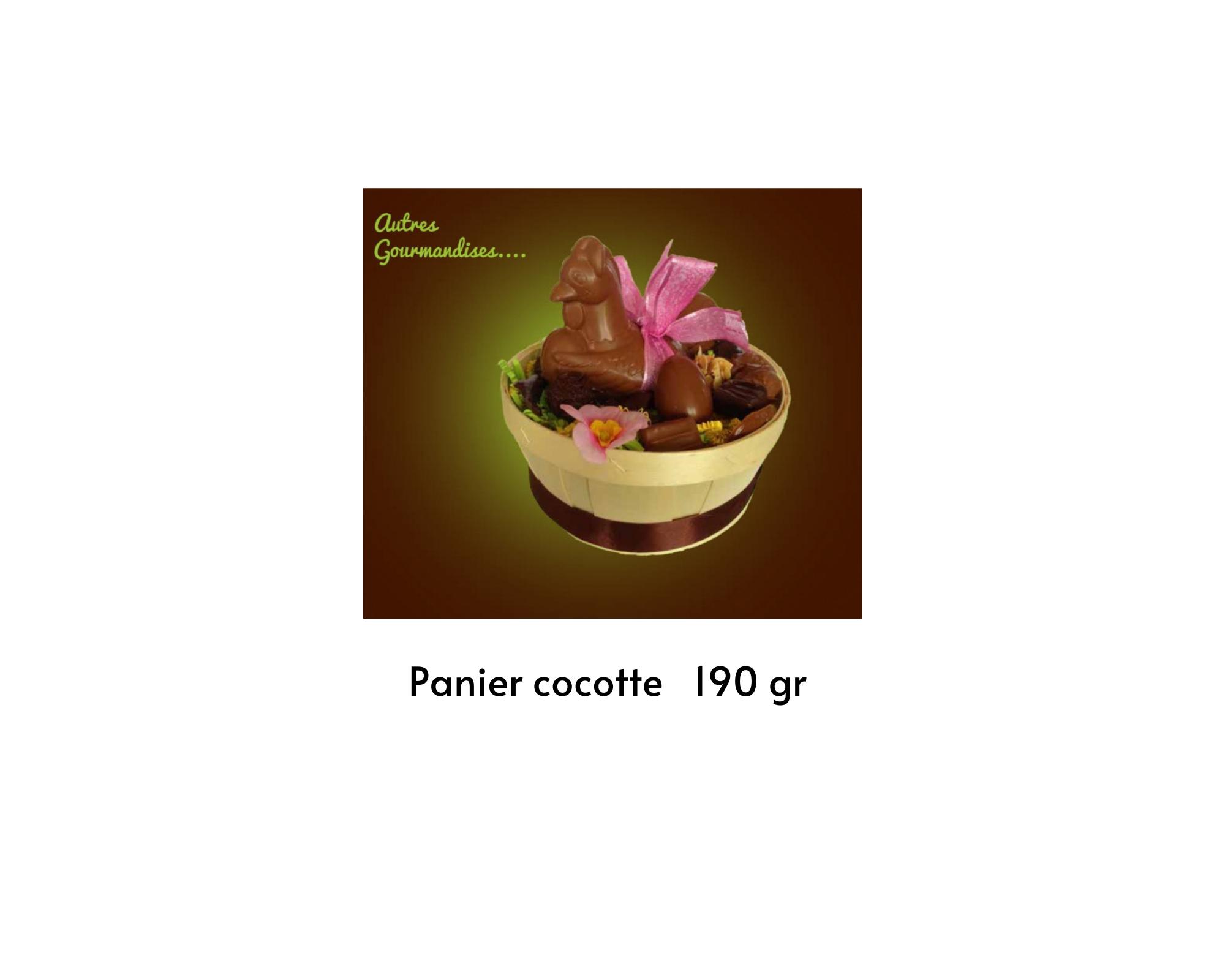 Panier cocotte